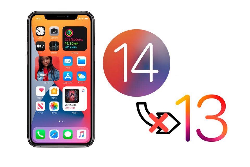 Ya no es posible regresar a iOS 13.7 si estás en iOS 14